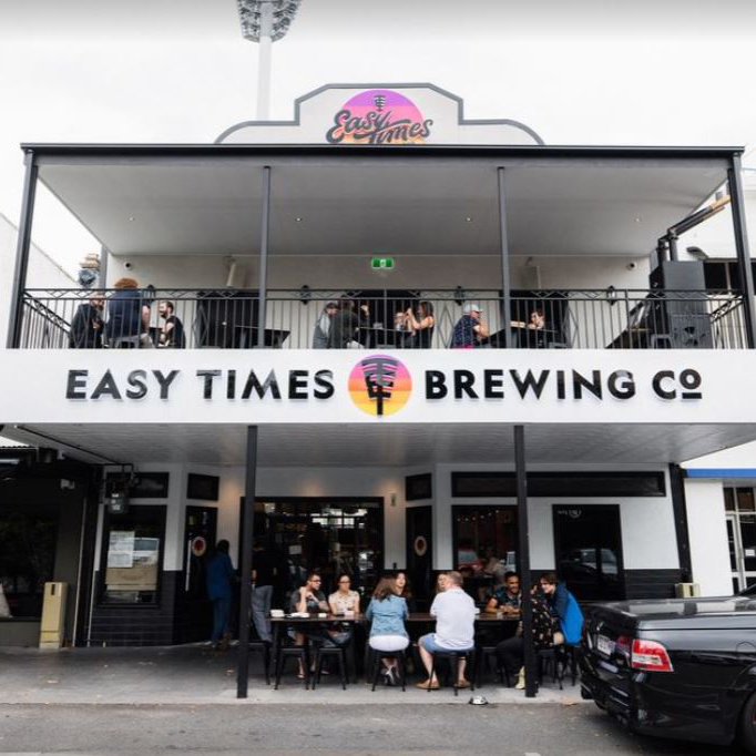 Easy Times Brewing Copany at the Gabba
